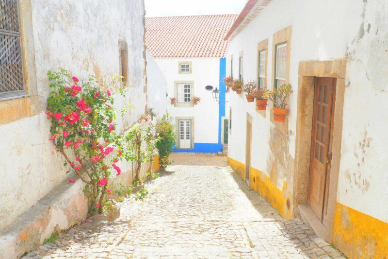 Obidos – ポルトガルの歴史香る白い街 オビドス –