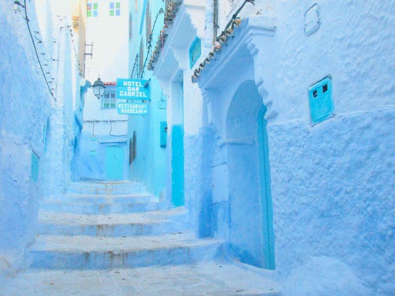 シャウエン-モロッコの青い街-