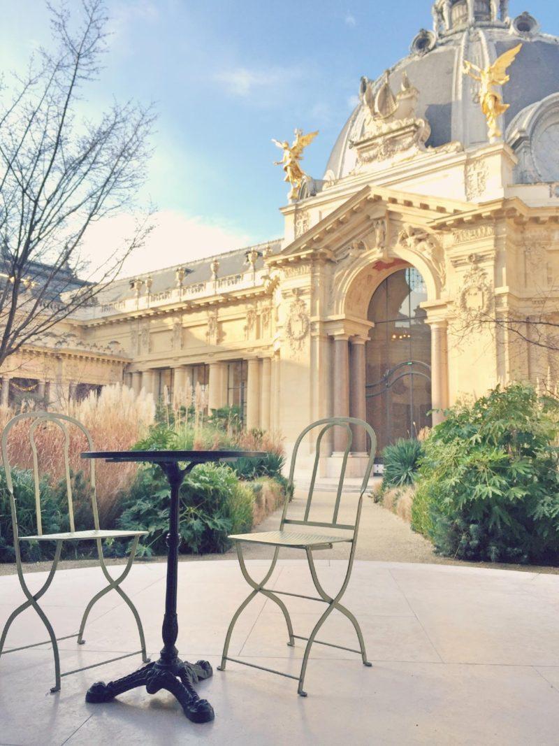 Petit Palais-美術館にある秘密のカフェ-