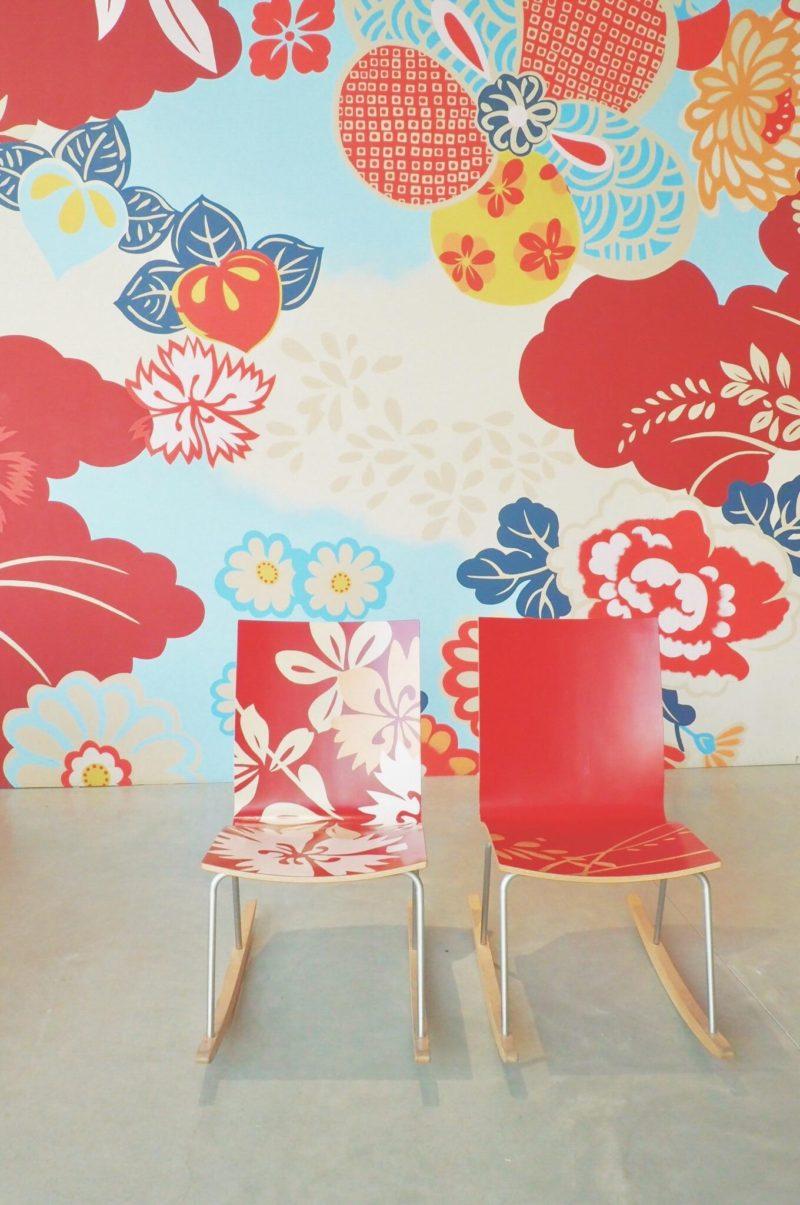 桜色の金沢21世紀美術館