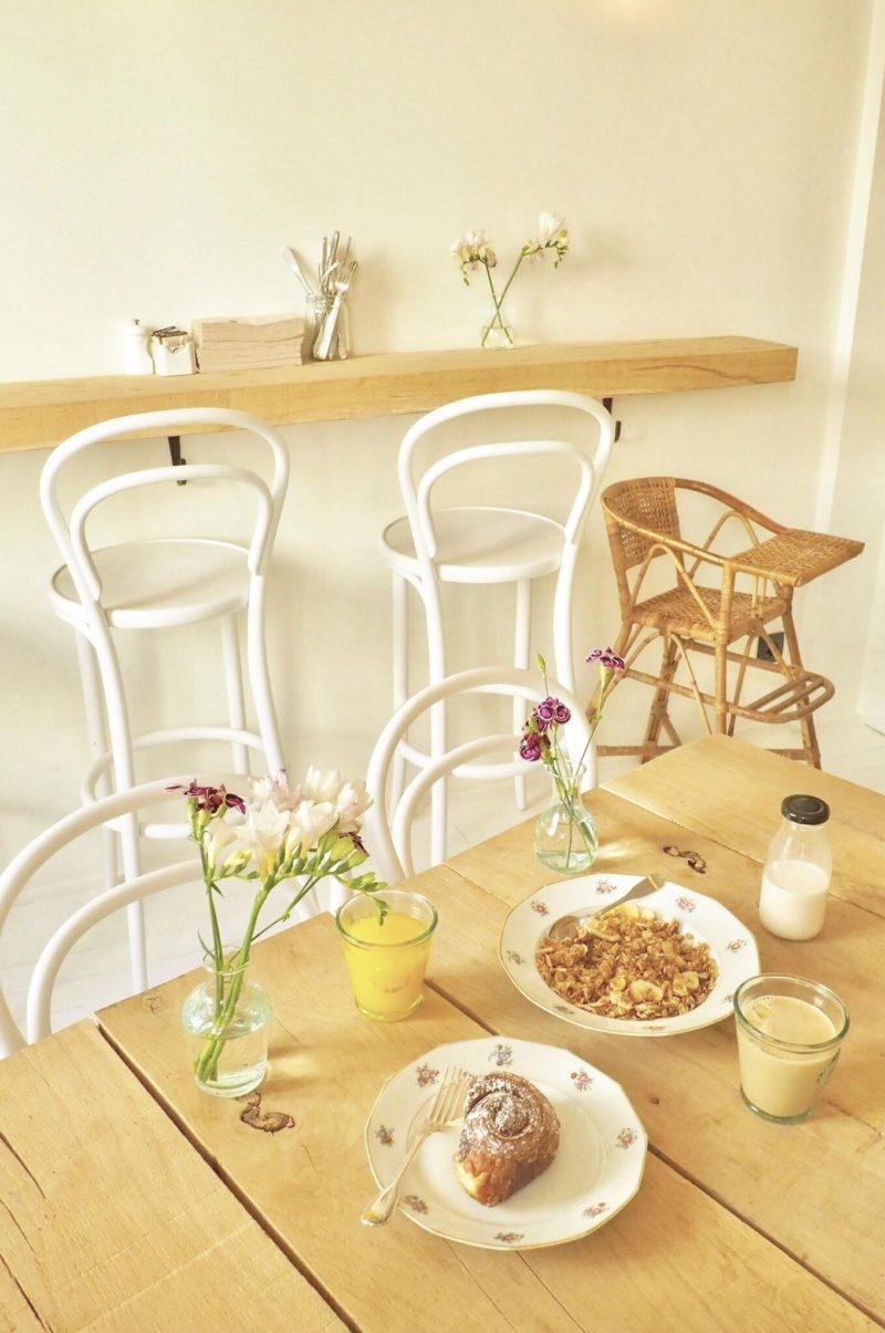Marcelle-住みたいと思う程可愛いパリのカフェ