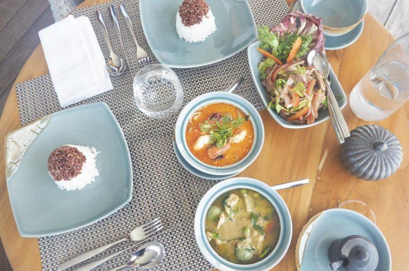 Dusit Thani Maldives -Benjarong Restaurantのタイ料理