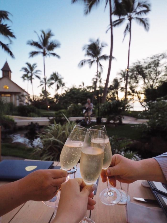 Four Seasons Resort Oahu at Ko Olina – イタリアンレストランNoeでのディナー –