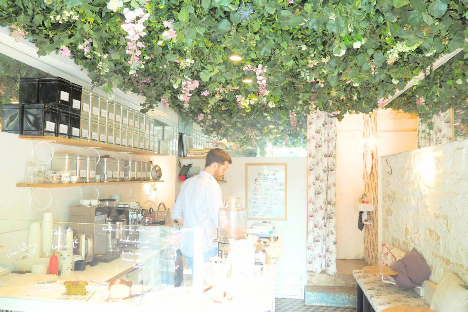 マレの可愛いカフェlily of the valley | *le petit journal***