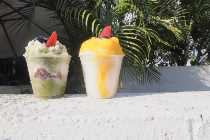 ハワイ一美味しい..? Monsarrat Shave Iceのかき氷。