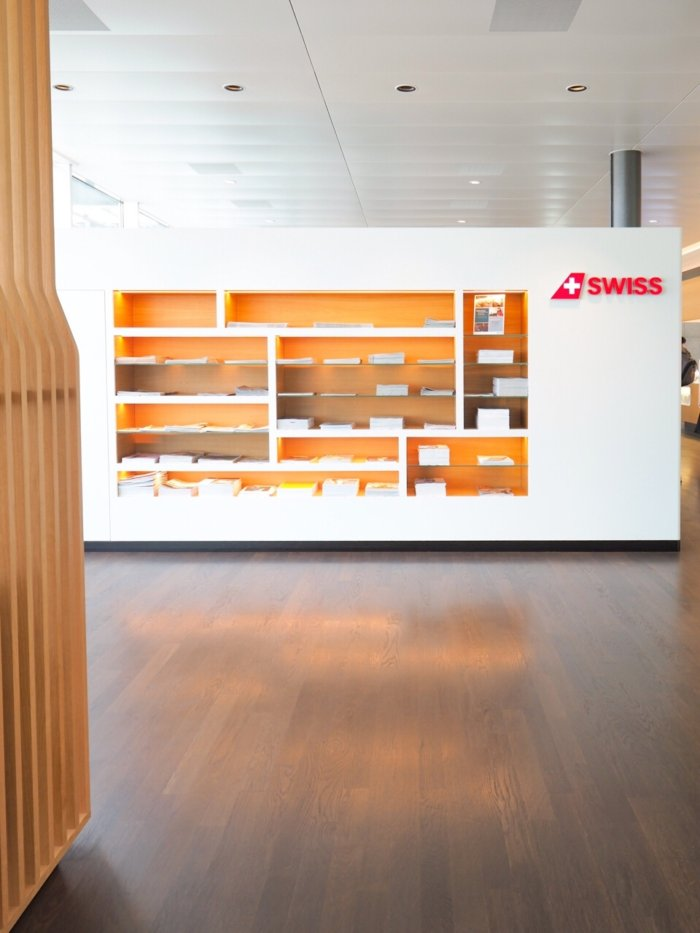 Swiss International Air Lines Business Class Lounge