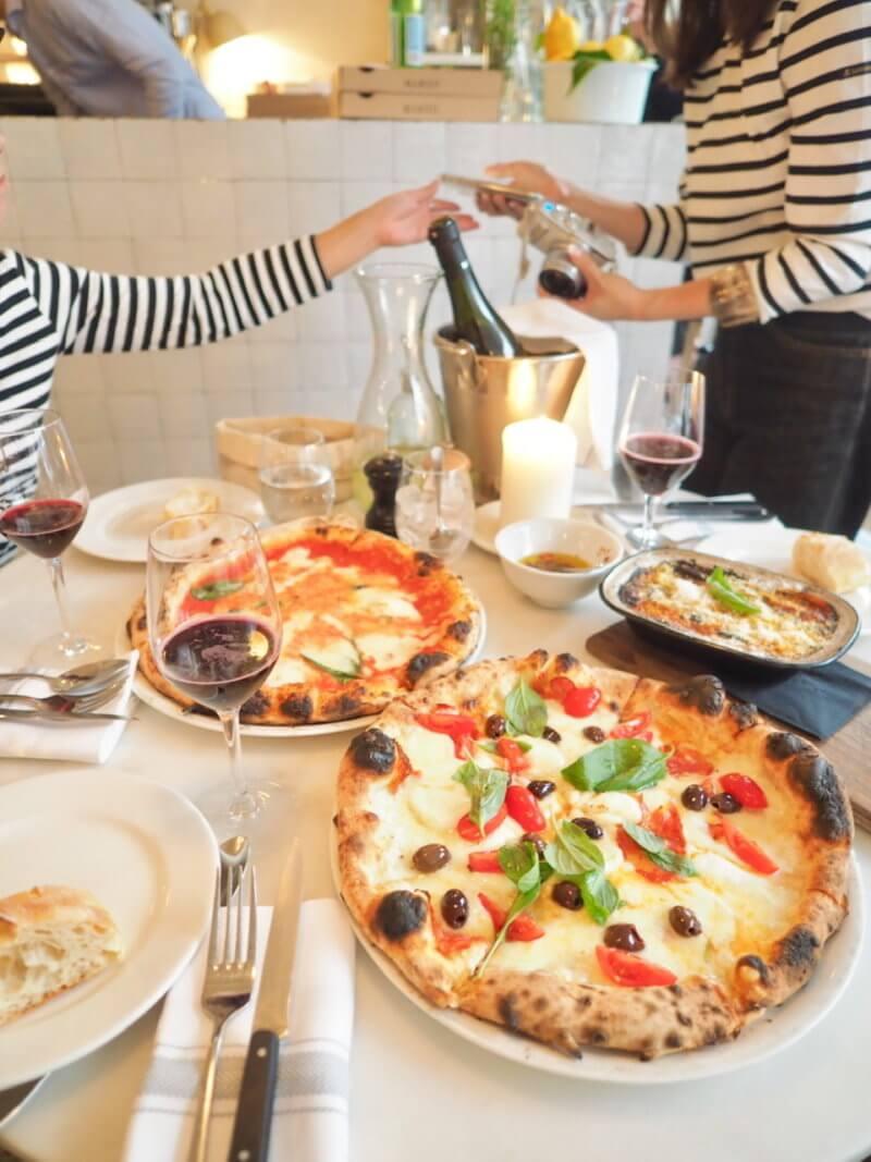 MARZOで食べる美味しいPIZZA。