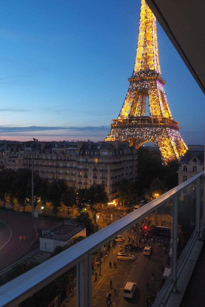 Pullman Paris Tour Eiffel エッフェル塔が見えるホテル