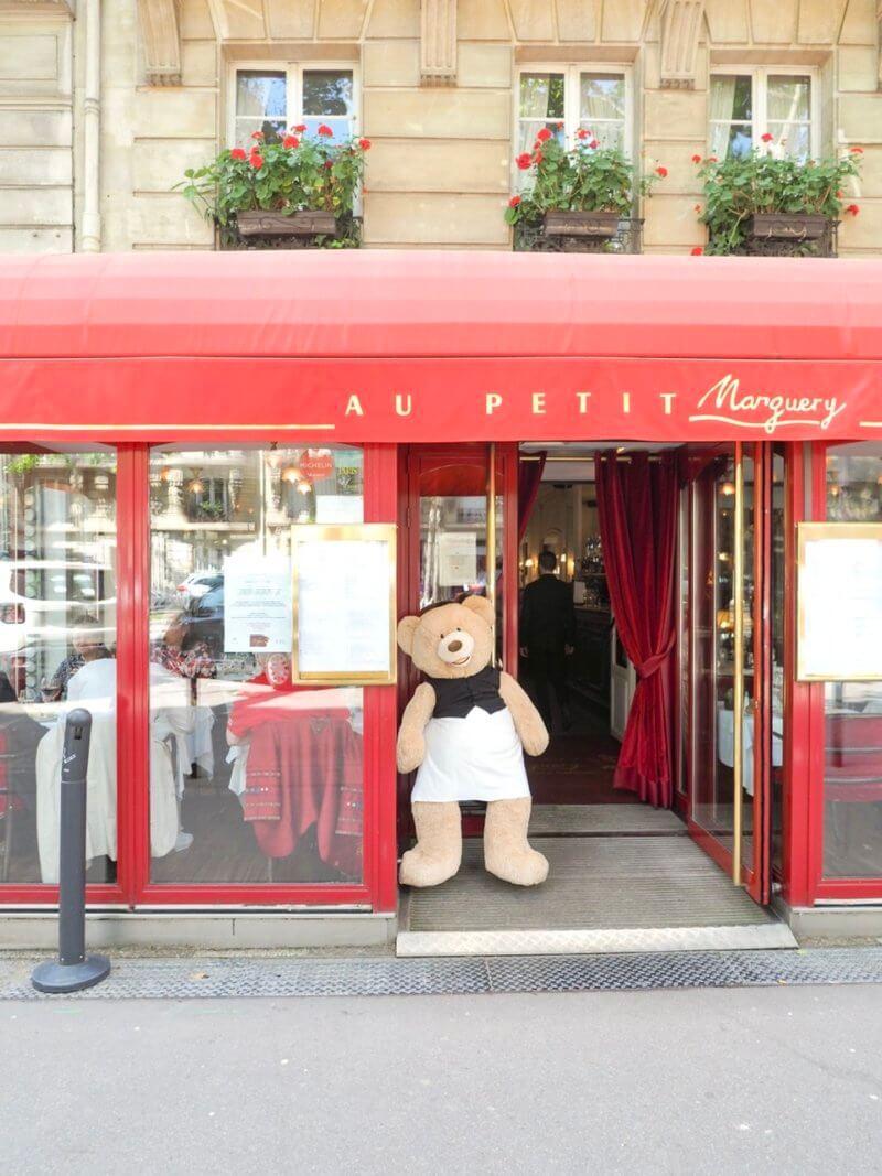 テディベアが暮らす、パリの街。
