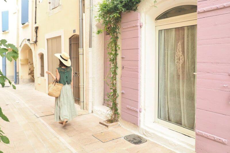 Saint-Rémy-de-Provenceの可愛いドア。