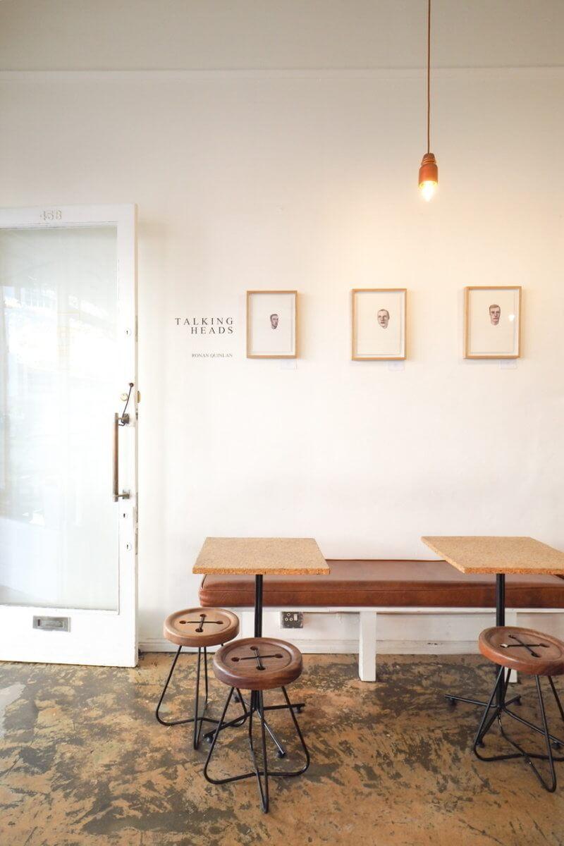 ケープタウンの可愛いカフェ。