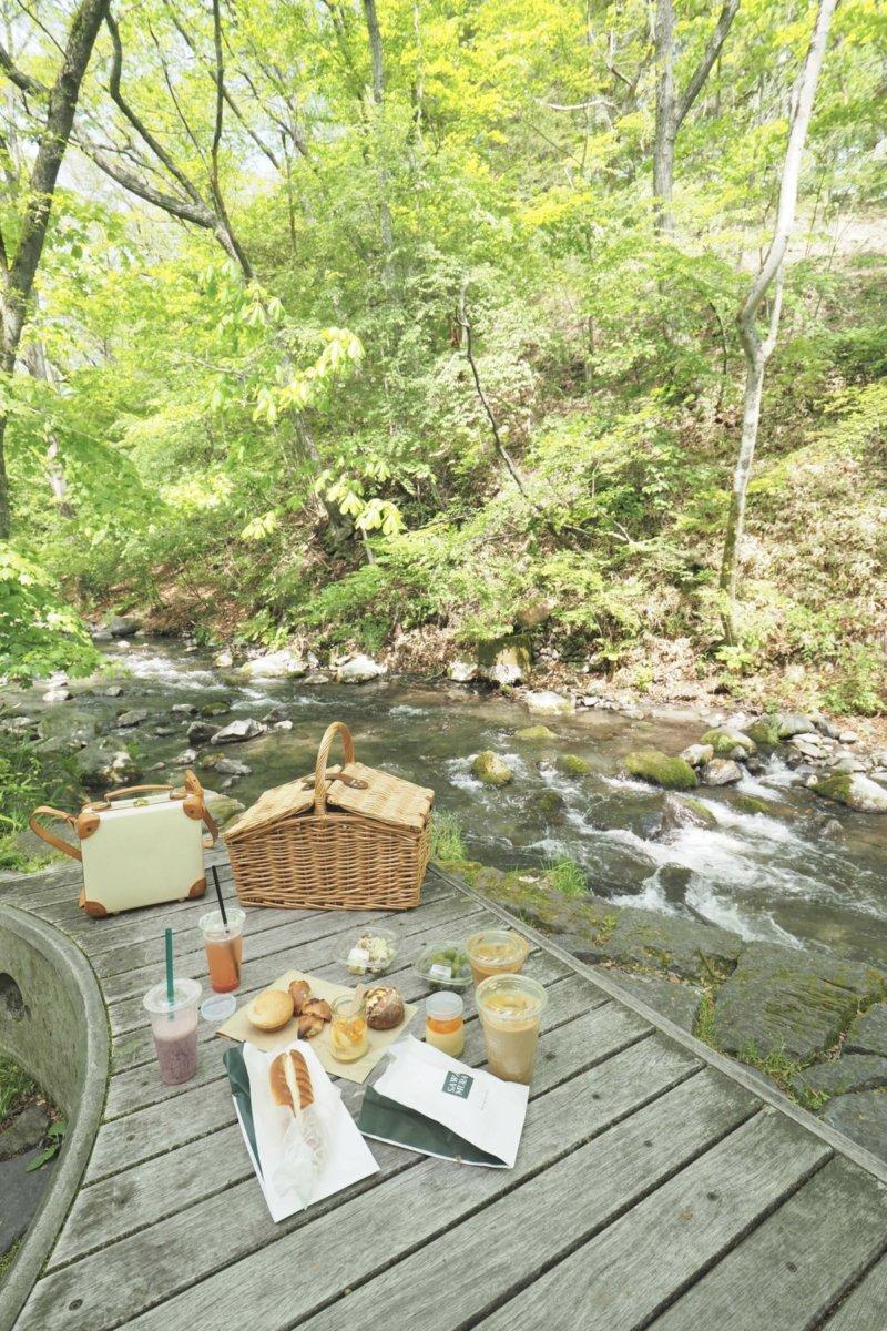 軽井沢での過ごし方 -貸切スペースでピクニック –